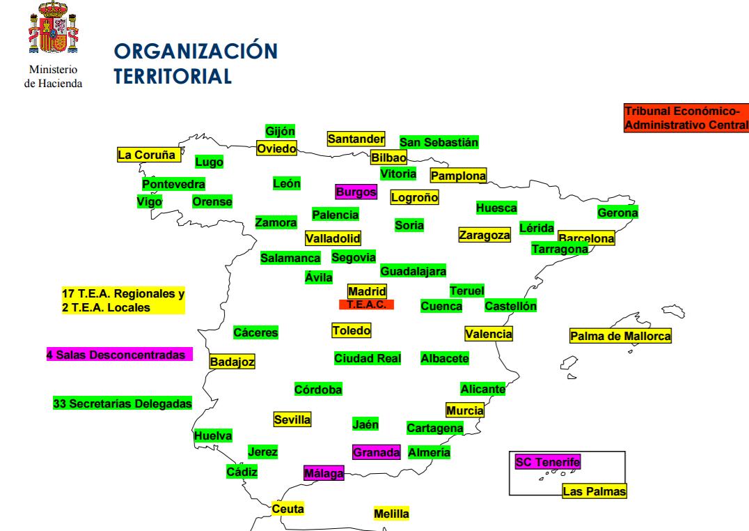 jurisdiccion tribunales economico-administrativos