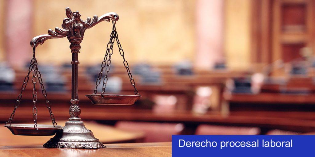 proceso judicial laboral