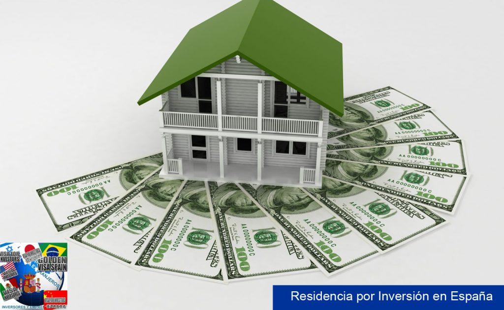 Residencia en España de extranjeros por inversion