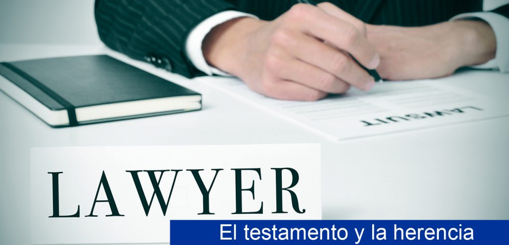 Sucesiones, testamento y herencias