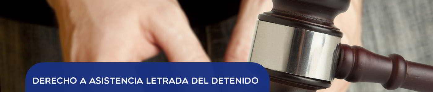 asistencia letrada al detenido