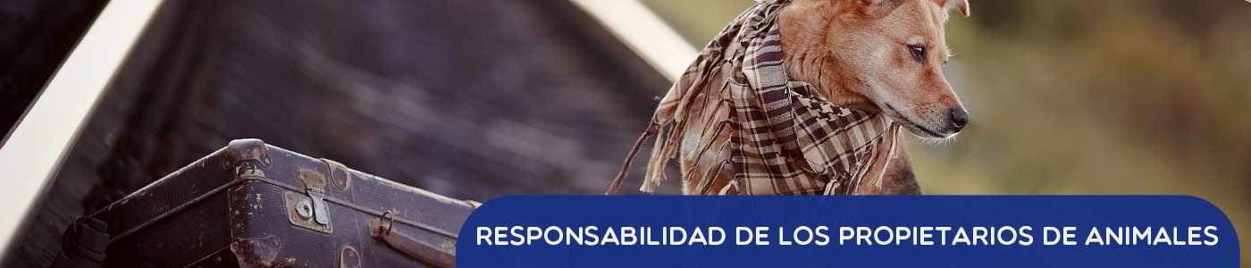 responsabilidad de los propietarios de animales