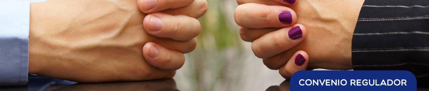 convenio regulador de separación o divorcio
