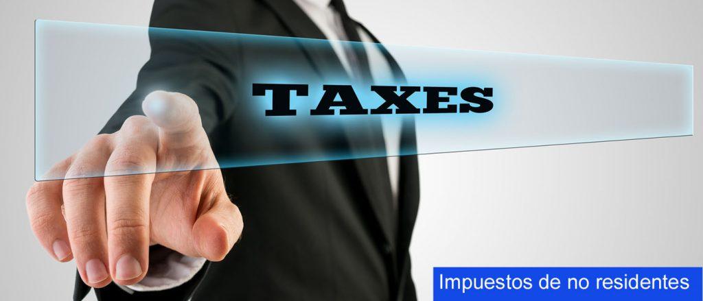 Impuestos de no residentes en España