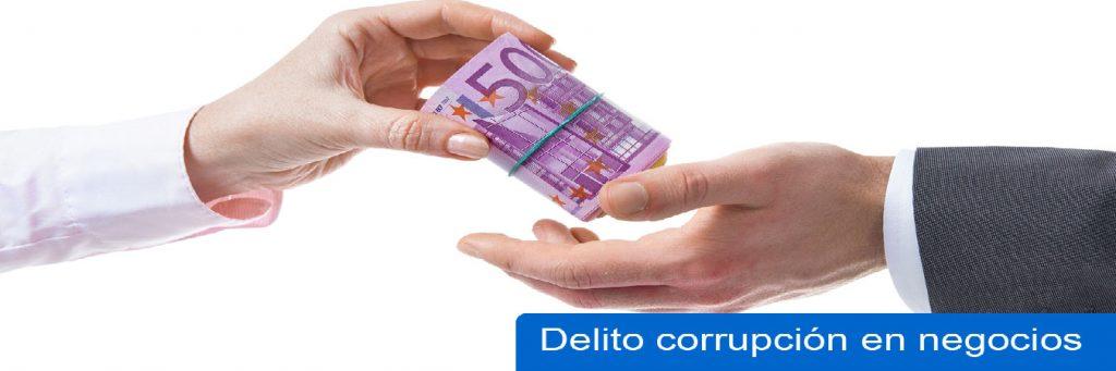 Delito de corrupcion de negocios