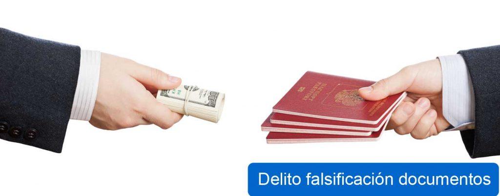 delito de falsificacion de documentos