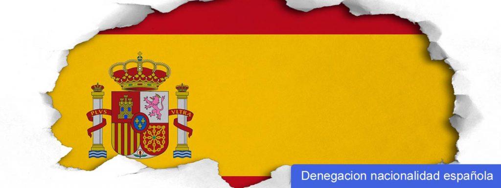 recurso denegacion nacionalidad espanola