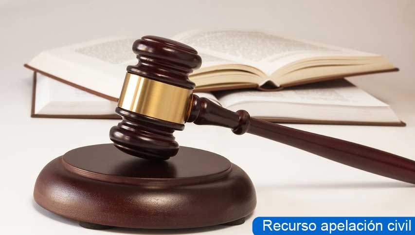 recurso apelación civil