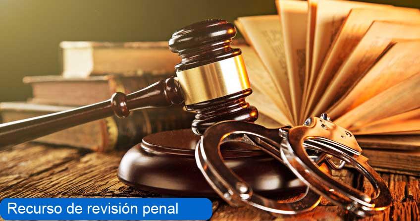 recurso de revisión penal