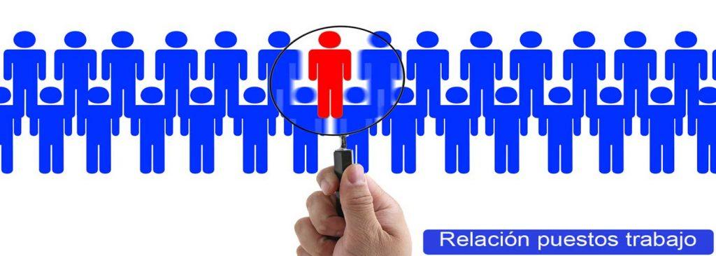 relacion puestos trabajo