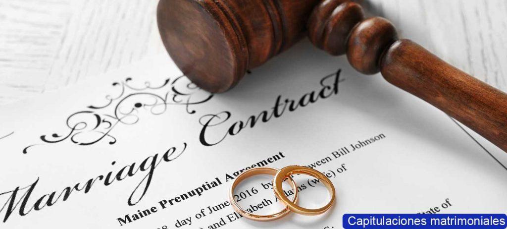 Capitulación matrimonial