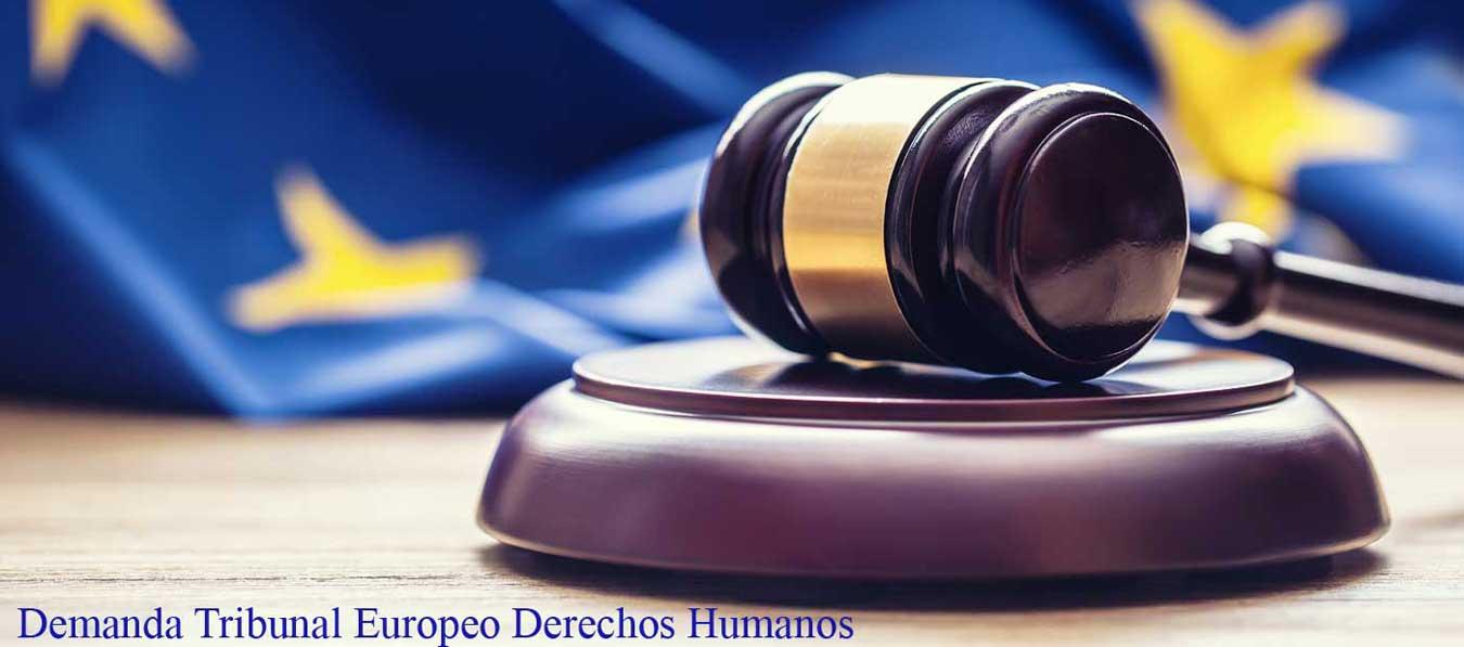 demanda ante tribunal europeo derechos humanos
