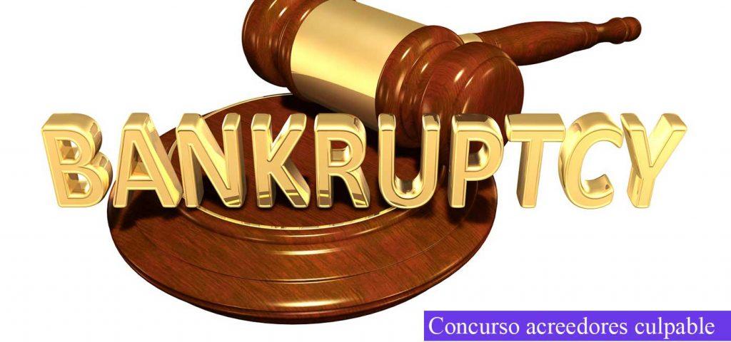 concurso de acreedores culpable
