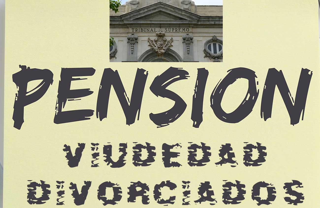 pensión viudedad divorciados