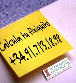 calcula finiquito