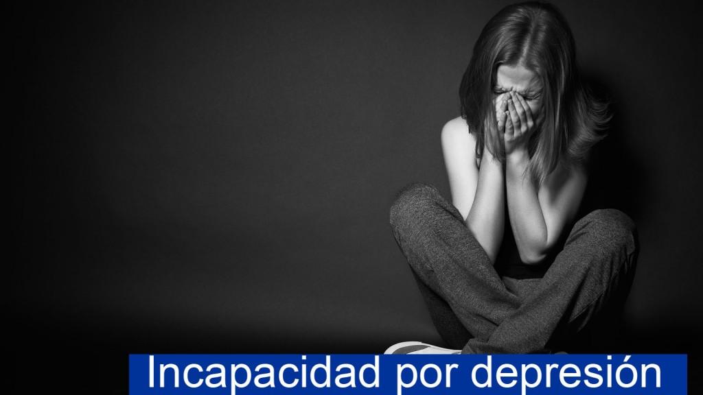 Incapacidad por depresión
