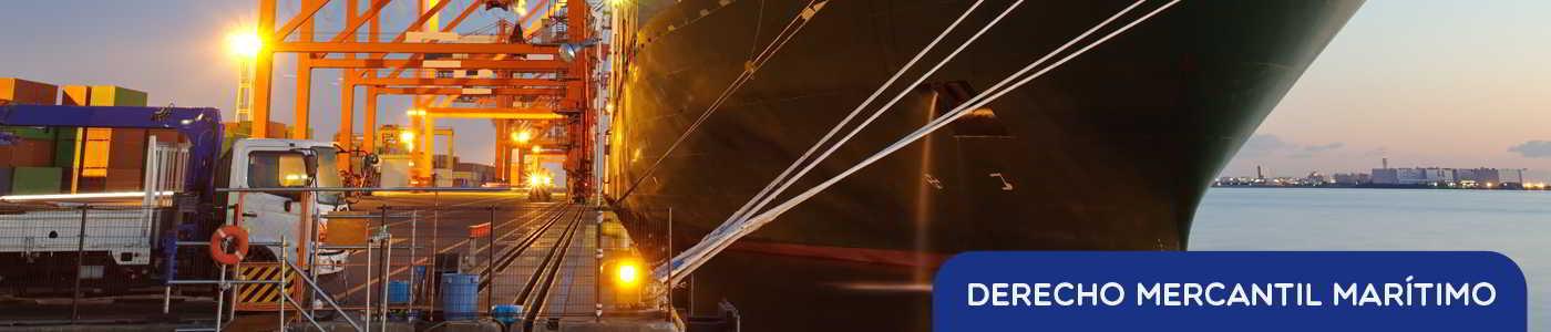 derecho mercantil marítimo