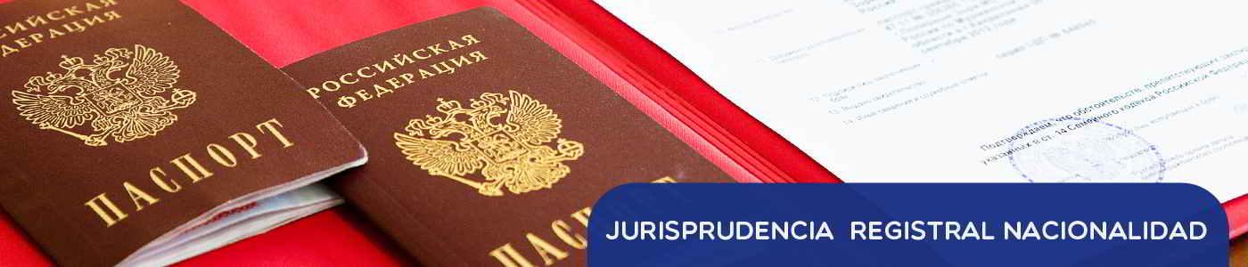 jurisprudencia registral extranjeria