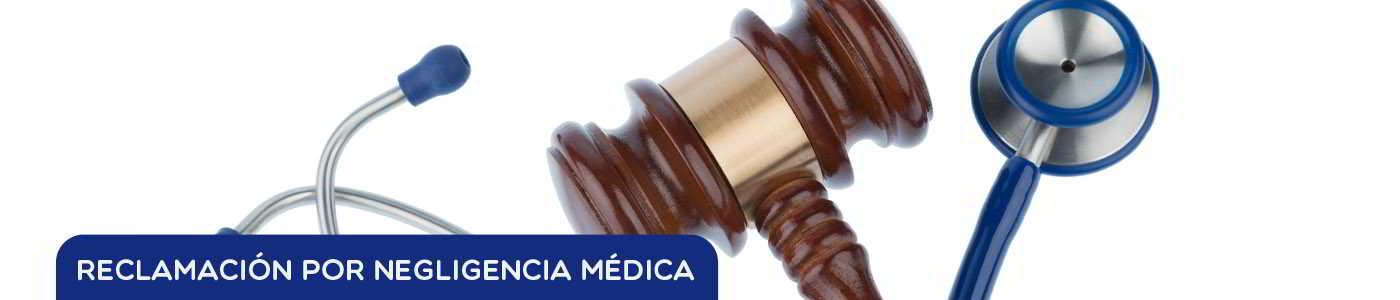 reclamación por negligencia médica