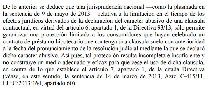 Cl usulas suelo hipotecas afectados cl usulas suelo for Sentencia clausula suelo 2016
