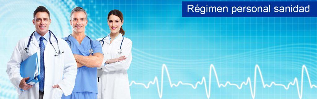 personal sanitario estatutario