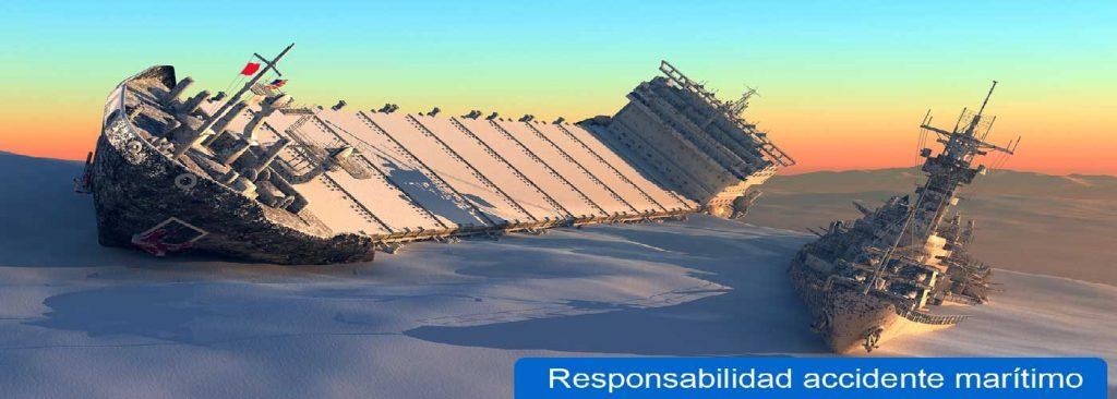responsabilidad accidente maritimo
