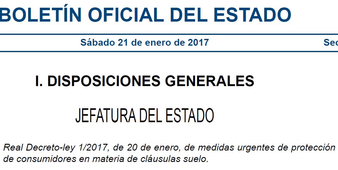 Cl usulas suelo hipotecas abogados expertos cl usulas for Decreto clausula suelo