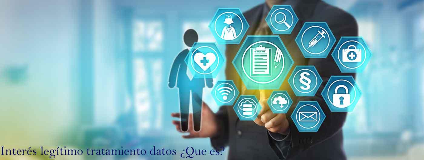 interes legítimo tratamiento datos
