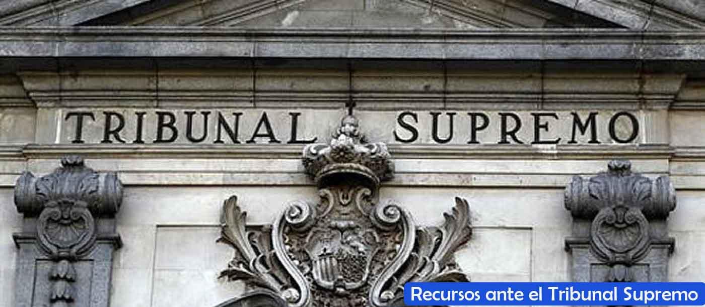 recursos tribunal supremo