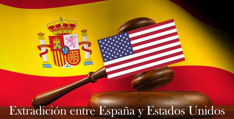 extradición entre españa y estados unidos