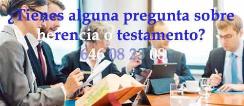 abogados expertos herencias en Madrid