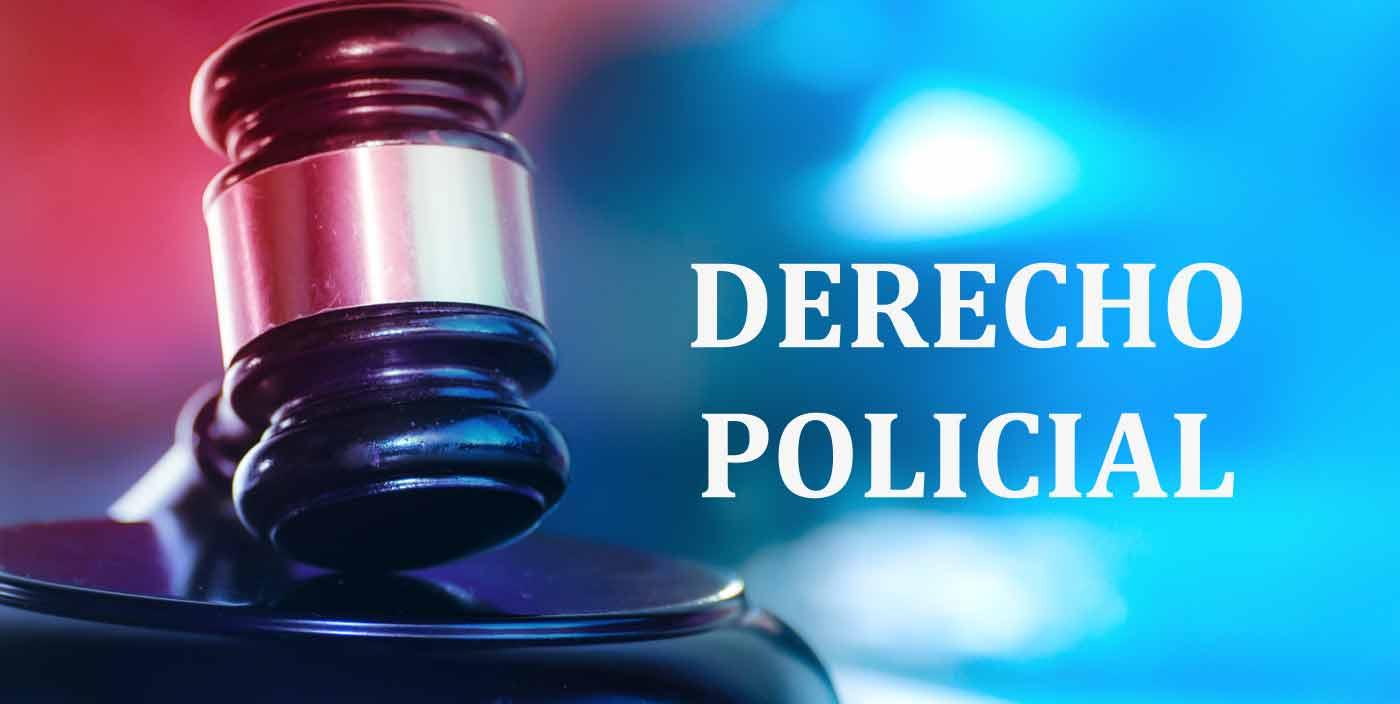 derecho policial